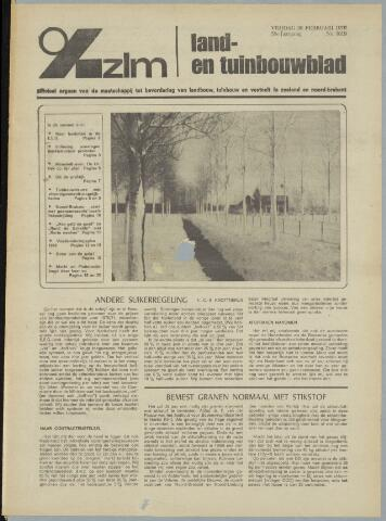Zeeuwsch landbouwblad ... ZLM land- en tuinbouwblad 1970-02-18