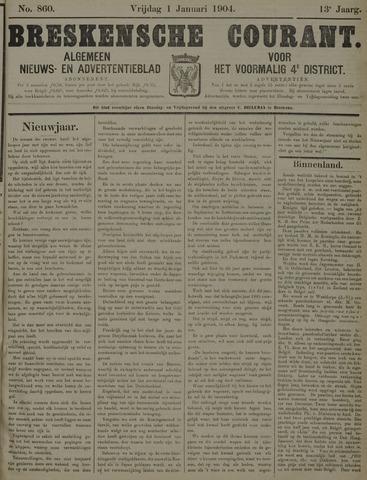 Breskensche Courant 1904