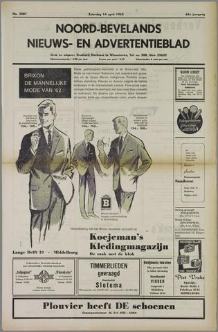 Noord-Bevelands Nieuws- en advertentieblad 1962-04-14