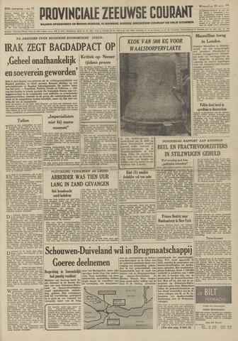 Provinciale Zeeuwse Courant 1959-03-25