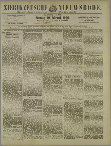 Zierikzeesche Nieuwsbode 1906-02-10