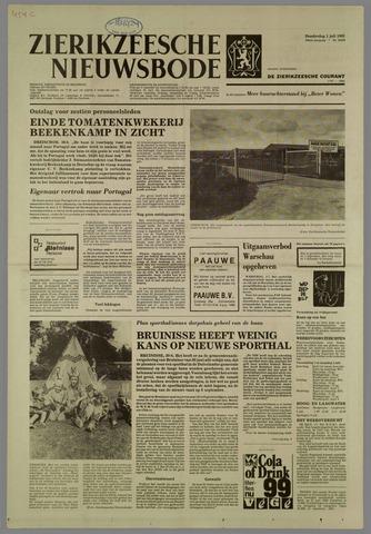 Zierikzeesche Nieuwsbode 1982-07-01
