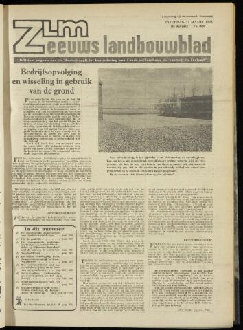 Zeeuwsch landbouwblad ... ZLM land- en tuinbouwblad 1962-03-16