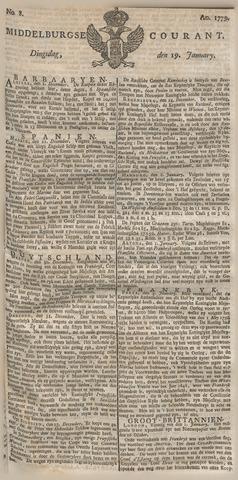Middelburgsche Courant 1779-01-19