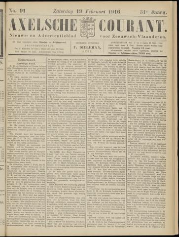 Axelsche Courant 1916-02-19