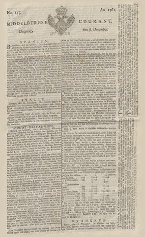 Middelburgsche Courant 1761-12-08