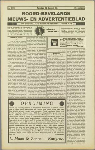 Noord-Bevelands Nieuws- en advertentieblad 1934-01-20