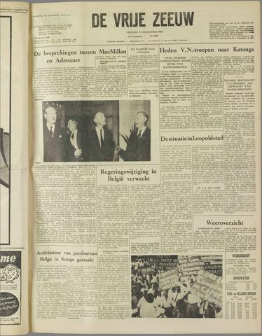 de Vrije Zeeuw 1960-08-12