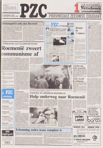 Provinciale Zeeuwse Courant 1989-12-28