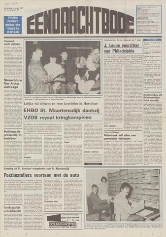 Eendrachtbode (1945-heden)/Mededeelingenblad voor het eiland Tholen (1944/45) 1989-03-16