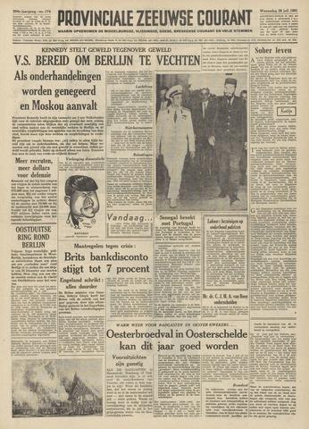 Provinciale Zeeuwse Courant 1961-07-26