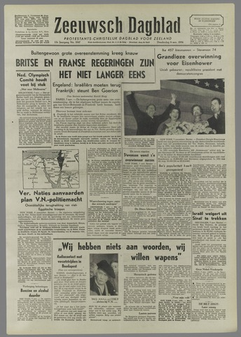 Zeeuwsch Dagblad 1956-11-08