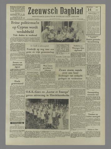 Zeeuwsch Dagblad 1958-07-14