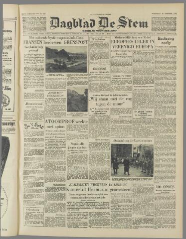 de Stem 1950-10-25