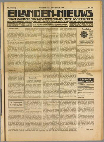 Eilanden-nieuws. Christelijk streekblad op gereformeerde grondslag 1935-08-07