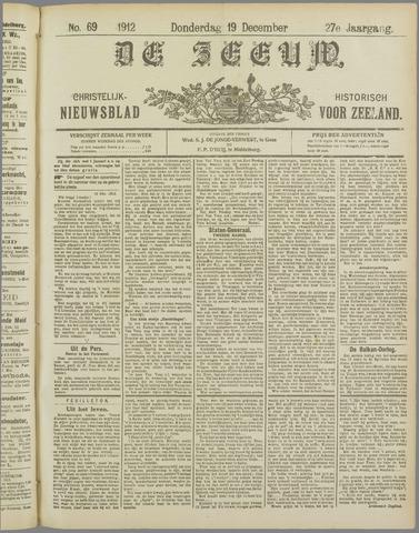 De Zeeuw. Christelijk-historisch nieuwsblad voor Zeeland 1912-12-19