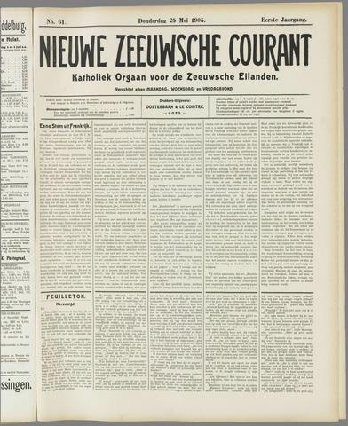 Nieuwe Zeeuwsche Courant 1905-05-25