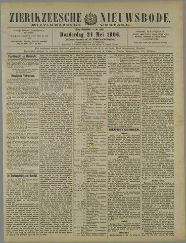 Zierikzeesche Nieuwsbode 1906-05-24
