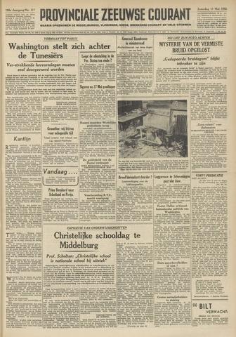 Provinciale Zeeuwse Courant 1952-05-17