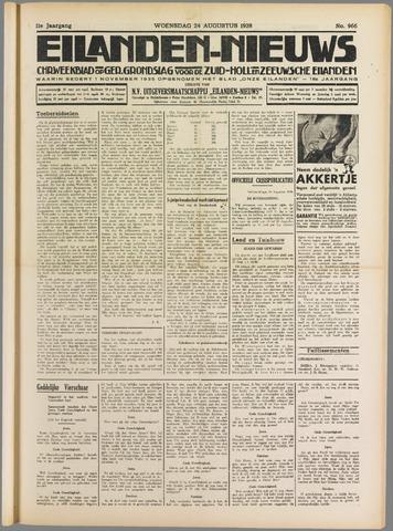 Eilanden-nieuws. Christelijk streekblad op gereformeerde grondslag 1938-08-24