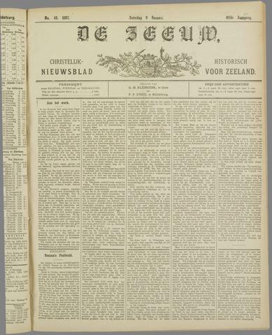 De Zeeuw. Christelijk-historisch nieuwsblad voor Zeeland 1897-01-09