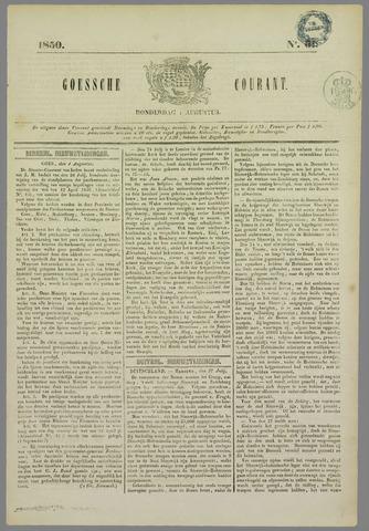 Goessche Courant 1850-08-01
