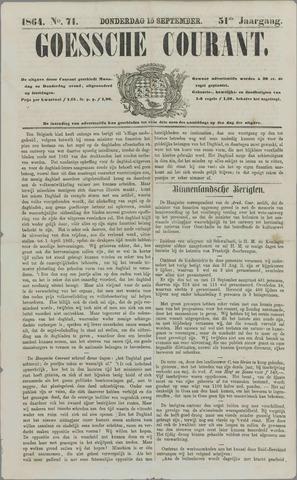 Goessche Courant 1864-09-15