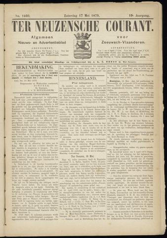 Ter Neuzensche Courant. Algemeen Nieuws- en Advertentieblad voor Zeeuwsch-Vlaanderen / Neuzensche Courant ... (idem) / (Algemeen) nieuws en advertentieblad voor Zeeuwsch-Vlaanderen 1879-05-17