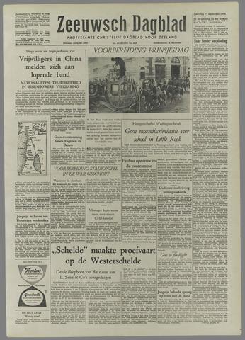 Zeeuwsch Dagblad 1958-09-13
