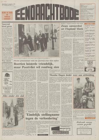 Eendrachtbode (1945-heden)/Mededeelingenblad voor het eiland Tholen (1944/45) 1989-09-14