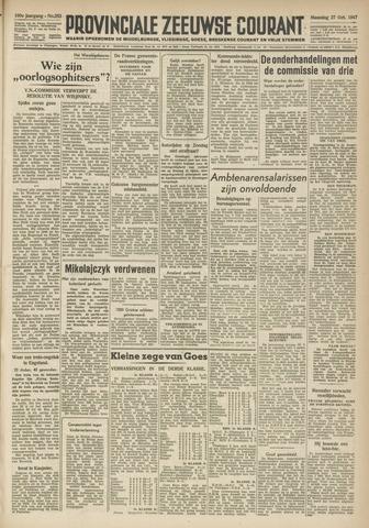 Provinciale Zeeuwse Courant 1947-10-27