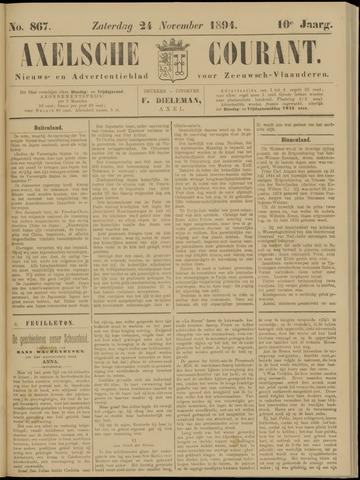 Axelsche Courant 1894-11-24
