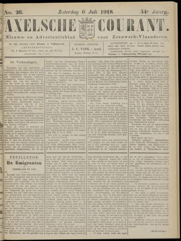 Axelsche Courant 1918-07-06