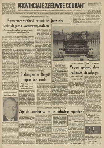 Provinciale Zeeuwse Courant 1959-02-25