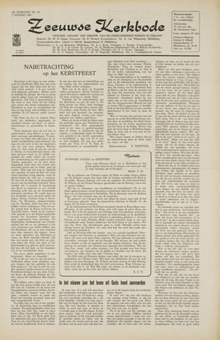 Zeeuwsche kerkbode, weekblad gewijd aan de belangen der gereformeerde kerken/ Zeeuwsch kerkblad 1966-01-07