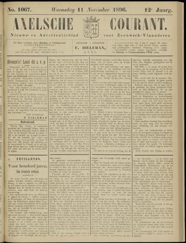 Axelsche Courant 1896-11-11