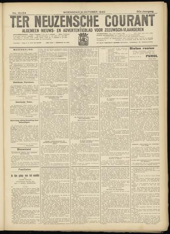 Ter Neuzensche Courant. Algemeen Nieuws- en Advertentieblad voor Zeeuwsch-Vlaanderen / Neuzensche Courant ... (idem) / (Algemeen) nieuws en advertentieblad voor Zeeuwsch-Vlaanderen 1940-10-09