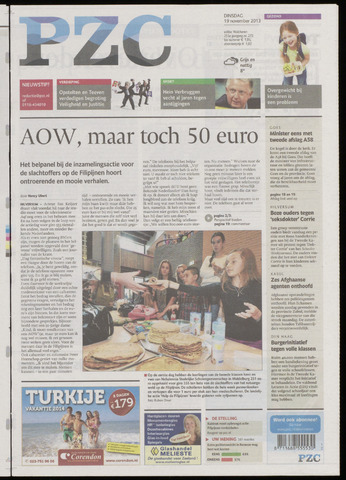 Provinciale Zeeuwse Courant 2013-11-19