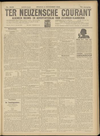 Ter Neuzensche Courant. Algemeen Nieuws- en Advertentieblad voor Zeeuwsch-Vlaanderen / Neuzensche Courant ... (idem) / (Algemeen) nieuws en advertentieblad voor Zeeuwsch-Vlaanderen 1936-11-06