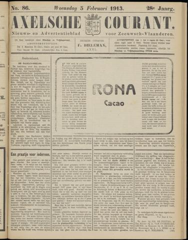 Axelsche Courant 1913-02-05