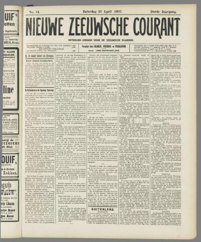 Nieuwe Zeeuwsche Courant 1907-04-13