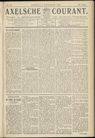 Axelsche Courant 1927-12-09