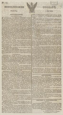Middelburgsche Courant 1829-05-07