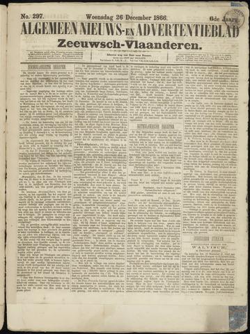 Ter Neuzensche Courant. Algemeen Nieuws- en Advertentieblad voor Zeeuwsch-Vlaanderen / Neuzensche Courant ... (idem) / (Algemeen) nieuws en advertentieblad voor Zeeuwsch-Vlaanderen 1866-12-26