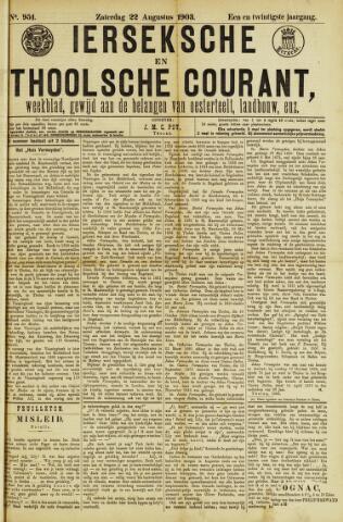 Ierseksche en Thoolsche Courant 1903-08-22