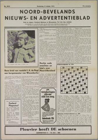 Noord-Bevelands Nieuws- en advertentieblad 1974-10-10