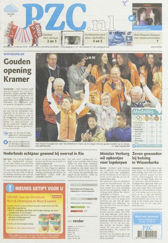 Provinciale Zeeuwse Courant 2010-02-15