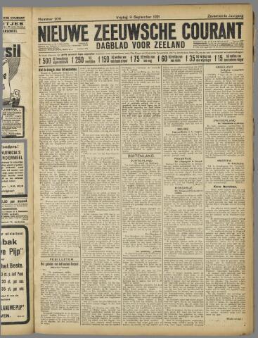 Nieuwe Zeeuwsche Courant 1921-09-09