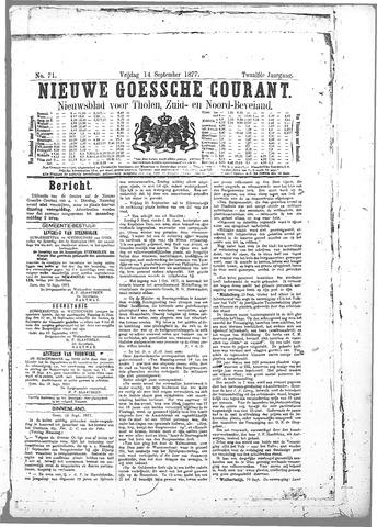Nieuwe Goessche Courant 1877-09-14