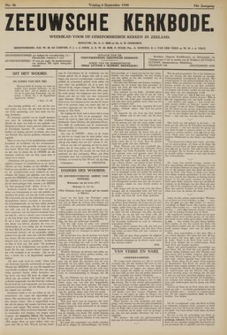 Zeeuwsche kerkbode, weekblad gewijd aan de belangen der gereformeerde kerken/ Zeeuwsch kerkblad 1940-09-06